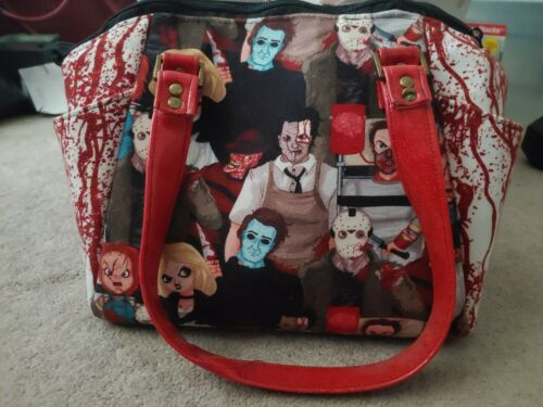 Horror purse (Halloween, Jason, Michael, Freddy)