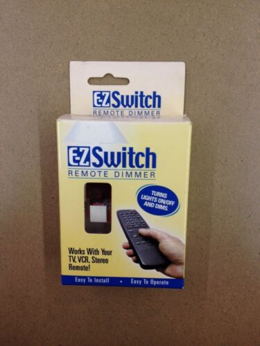 WORKS WITH TV 21110 VCR STEREO REMOTE! EZ Switch Remote Dimmer