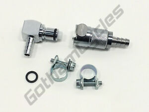 Details about BMW R1150GS ADV Gas Fuel Line Hose Quick Disconnect Coupling  Crossover Kit Set