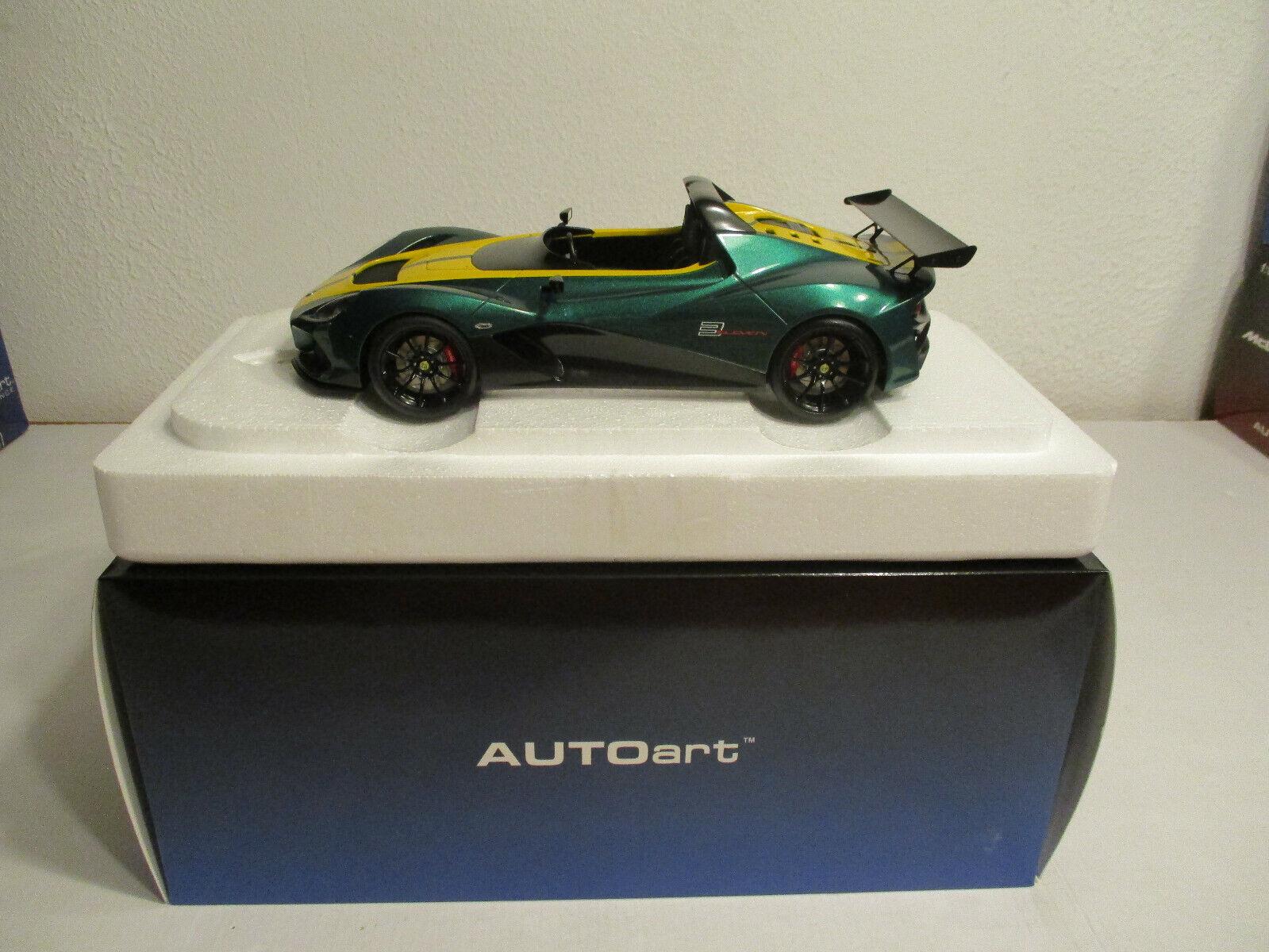 (Gok ) 1 18 Autoart Lotus 3 - Eleven Nip