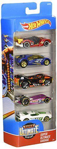 Hot Wheels 5-Car Cadeau Pack Style Peut Varier