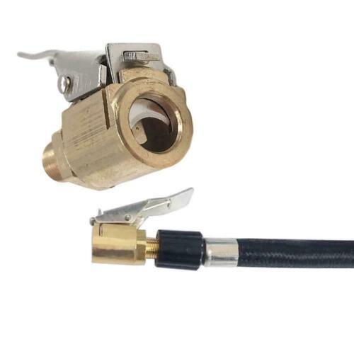 8MM Car Air Pump Nozzle Adapter Truck Tire Inflator Head Valve Clip Connect E9M5