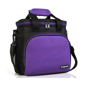 30a909c92796 Details about Insulated Lunch Bag S1: InsigniaX Cool Lunch  Box/Cooler/Lunchbox for Adult Wo...
