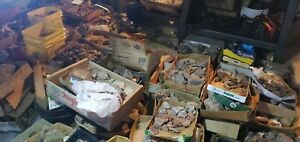 10LB Old stock Rock Mineral Fossil Crystal lapidary rough Estate grab bag lot