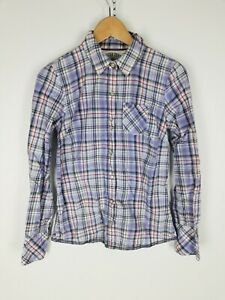 TOMMY-HILFIGER-DENIM-Camicia-Shirt-Maglia-Chemise-Hemd-Tg-S-Woman-Donna