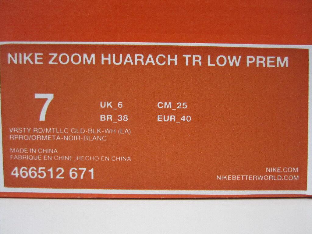 cheaper 6c9c5 becaa ... NIKE HUARACHE LOW EA SPORTS MANNY PACQUIAO SZ 7 7 7 RARE 786ed4
