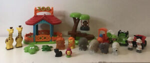 Happyland zoo arbre à singe Swing Figures Animaux Safari Camion Quad & Train