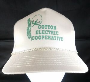 Cotton-Electric-Co-op-Snapback-Hat-Utility-Cooperative-Cap-Rural-Oklahoma