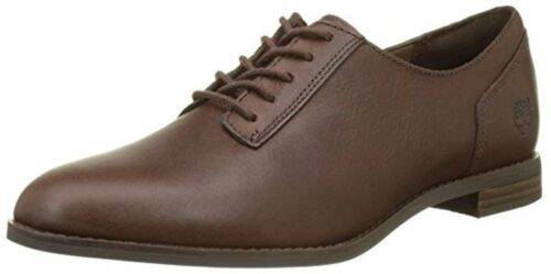 Soil Damen A1jpn Quaranta Oxford Pelle Schuhe Timberland Marrone Preble 5nYXZEEA