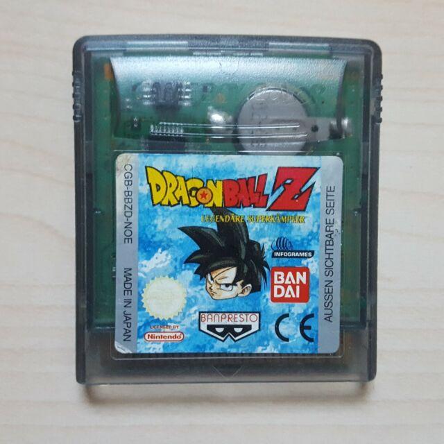 Dragonball Z Legendäre Superkämpfer Spiel Modul Nintendo GameBoy Color GBC