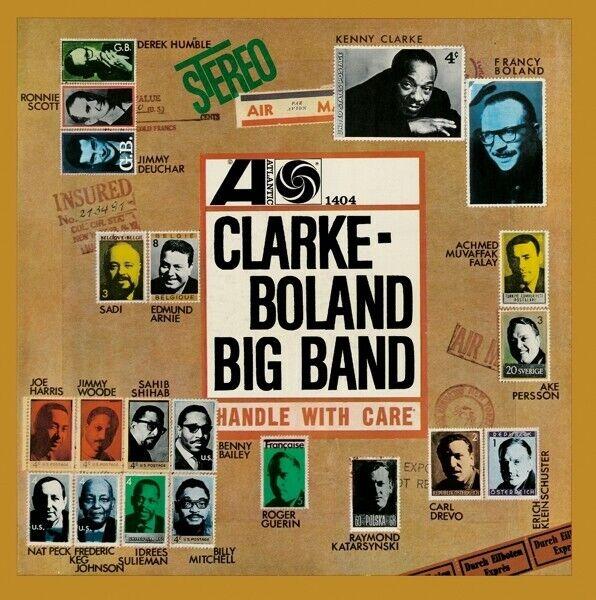 CLARKE-BOLAND BIG BAND - CLARKE-BOLAND BIG BAND   CD NEU