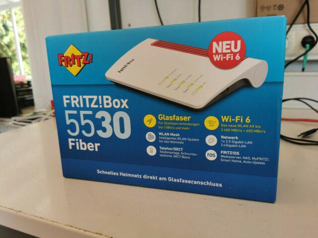 AVM FRITZ! Box 5530 NEU geöffnet , aber nie angeschlossen.