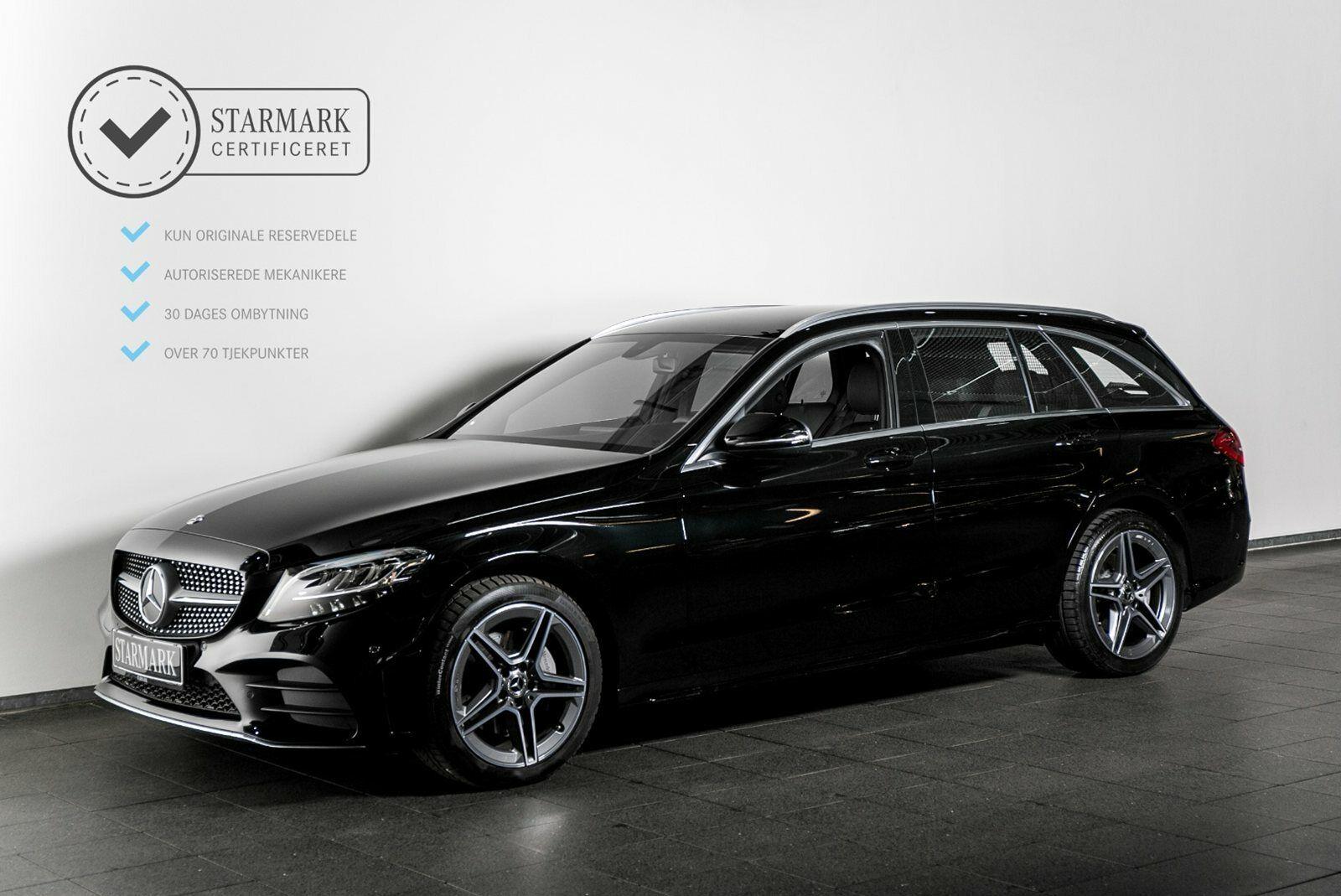 Mercedes C200 1,5 AMG Line stc. aut. 5d - 479.900 kr.