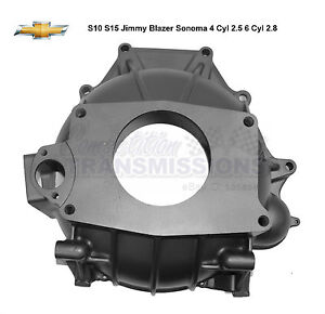 Details about T4 T5 S10 4 Cyl Bell Housing S15 Jimmy Blazer Sonoma 2 5 6  Cyl 2 8 15679712