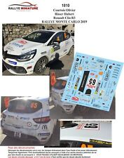 DECALS 1//43 REF 1564 RENAULT CLIO R3T POIZOT RALLYE MONTE CARLO 2018 RALLY WRC