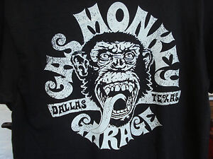 GENUINE-GAS-MONKEY-T-SHIRT-SIZE-MEDIUM-WE-ARE-IN-THE-UK