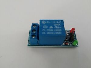 Carte module avec 1 relais 12V RT LED 1 channel 10A 250V 12A 125V - DIY relay