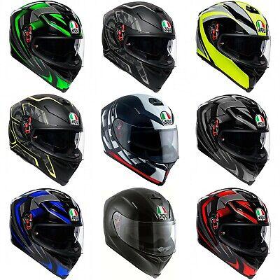 *SHIPS SAME DAY* AGV K5S Motorcycle Helmet Solid, Hurricane, Storm,Typhoon