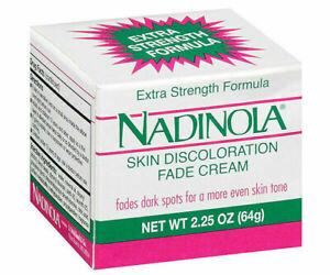 Nadinola Skin Discoloration Fade Cream Extra Strength 2.25 oz NIB 2