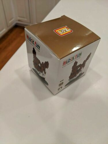 I BLOCK FUN-LOZ Diamond Block Pokemon Eevee 130pc Block Set