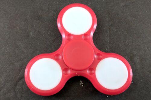 Details about  /Plastic LED HAND SPINNER TRI FIDGET TOY EDC FINGER LIGHT GYRO FOR KID