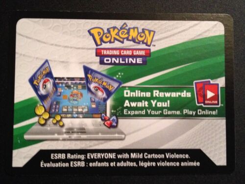 1 X Shining Legends Elite Trainer Box TCGO Code Pokemon Trading Card Game Online