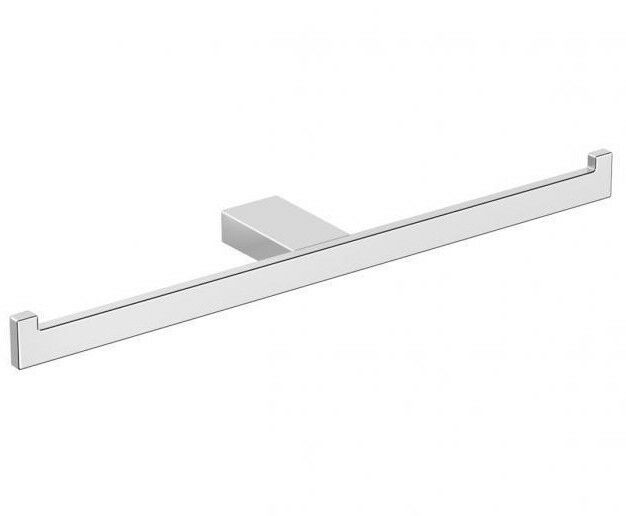 Milli Milli Milli EDGE DOUBLE TOILET ROLL HOLDER 310mm Brass, Wall Mounted CHROME ede7d9