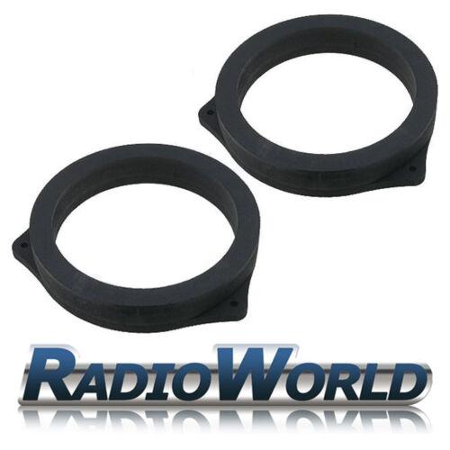 "Bmw X5 E53 99-06 Mdf altavoz delantero 6,5 /""Speaker Adaptadores Separadores Anillos"