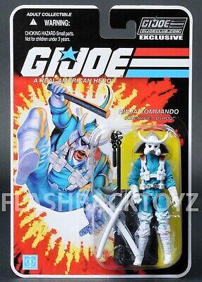 2018 GI Joe Bushido Ninja Force Commando Club Exclusive FSS 8.0 MOC