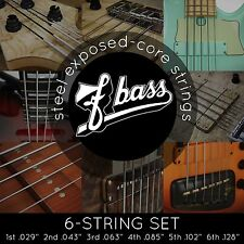 NEW FBass 6-String Sets Exposed Core Bass Strings