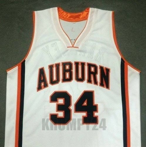 Clothing, Shoes & Accessories CHARLES BARKLEY Auburn Tigers White ...