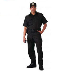 Rothco 30205/4765 Black Short Sleeve Tactical Shirt & Or Matching Pants