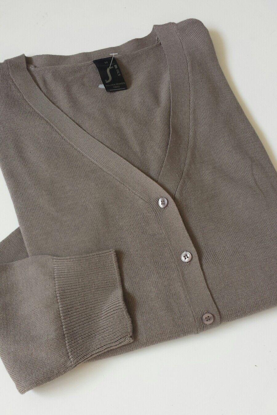 Women's SOL'S golden Women  cardigan taupe color  size M BNWOT