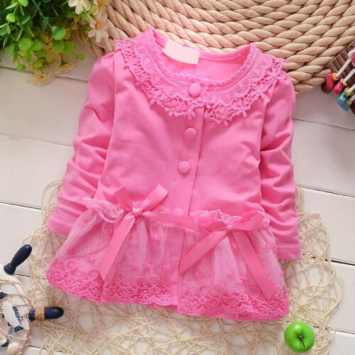 Kids Infant Baby Girls T-shirt Dress Toddler Girl Tops Clothes Clothing T-shirts