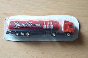 Modellino-autocarro-per-birra-Rimorchio-trasporto-BENZ-AXOR-Konig-Pilsener-HS-10