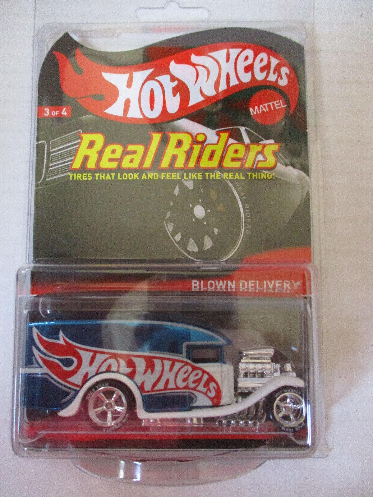 artículos de promoción Hot Wheels Real Real Real Riders Soplado entrega Azul  3323 4500  gran venta