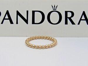 e2e35dc46 SALE 14K Gold Pandora Eternal Clouds Ring 150117 585 Stackable w ...