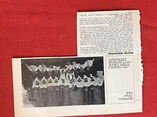 m2L ephemera 1975 reprint picture quarrington village choir 1930 c h hempstead