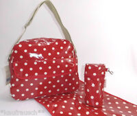Baby Diaper Bag Red , White Dots Dots Care Bag Baby Bag M. Surface