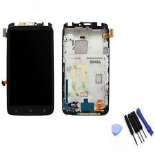 High Quality LCD Display Touch Screen Digitizer +Frame For HTC ONE X S720e+Tools