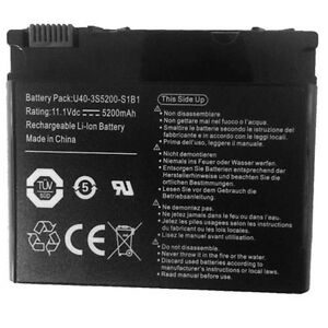 Uk-stock-FOR-ADVENT-6441-LAPTOP-BATTERY-PACK-U40-3S3700-B1Y1