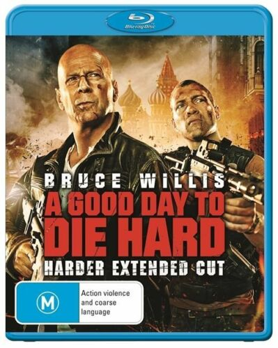 1 of 1 - A Good Day To Die Hard (Blu Ray, 2013)  Bruce Willis BRAND NEW SEALED