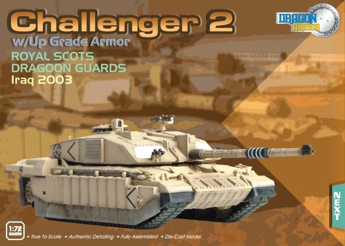 Dragon Armor Challenger 2 Battle Tank Royal Scots Iraq 2003 1 72 Scale 62017