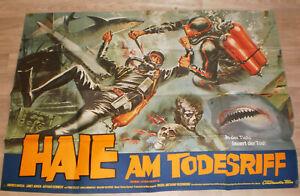 A0 Filmplakat  HAIE AM TODESRIFF, ANDRES GARCIA,JANET ARGEN,ARTHUR KENNEDY