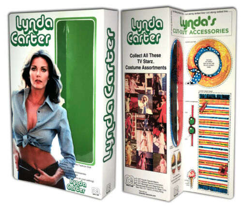 """Mego LYNDA CARTER Box for 12/"""" Action Figure BOX ONLY"""