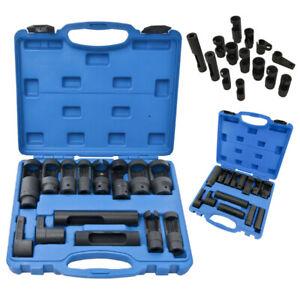 14-tlg-Lambdasonden-Werkzeug-Werkzeug-Lamdasonde-Spezial-Steck-Schluessel
