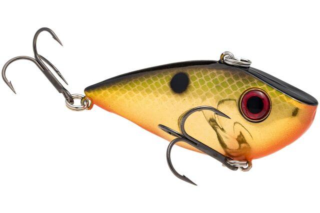 Strike King REYESD12-650 Red Eye Shad Chartreuse Perch Crankbait Fishing Lure