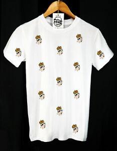 Freddie-MERCURY-MODELLO-T-Shirt-Rock-and-Roll-QUEEN-British-Abbigliamento