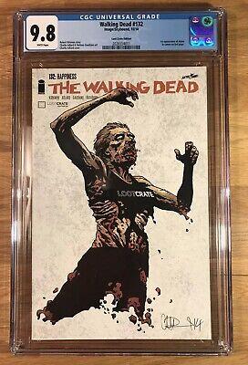 Walking Dead #138 CGC 9.8 first full Alpha 92 1 19 132 108