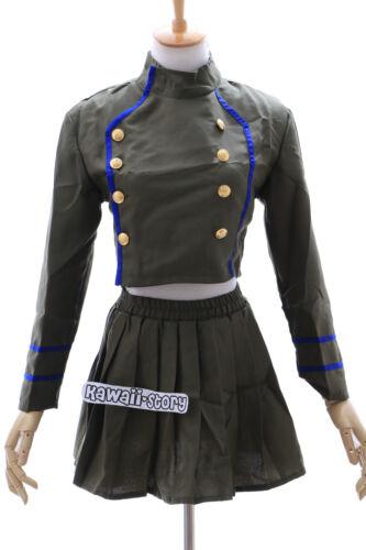 Mn-05 Katekyo Hitman reborn Chrome kaki vert costume set Cosplay Costume